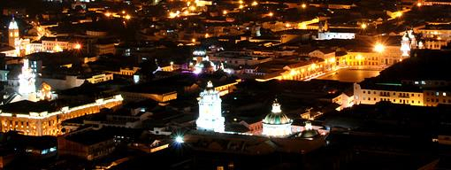 Quito Colonial by night